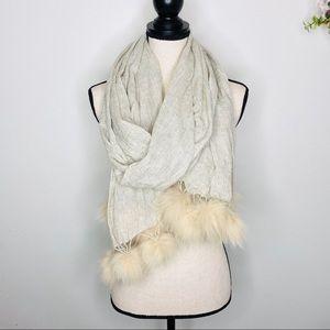 Randi & Will Silk & Merino Wool Fashion Scarf